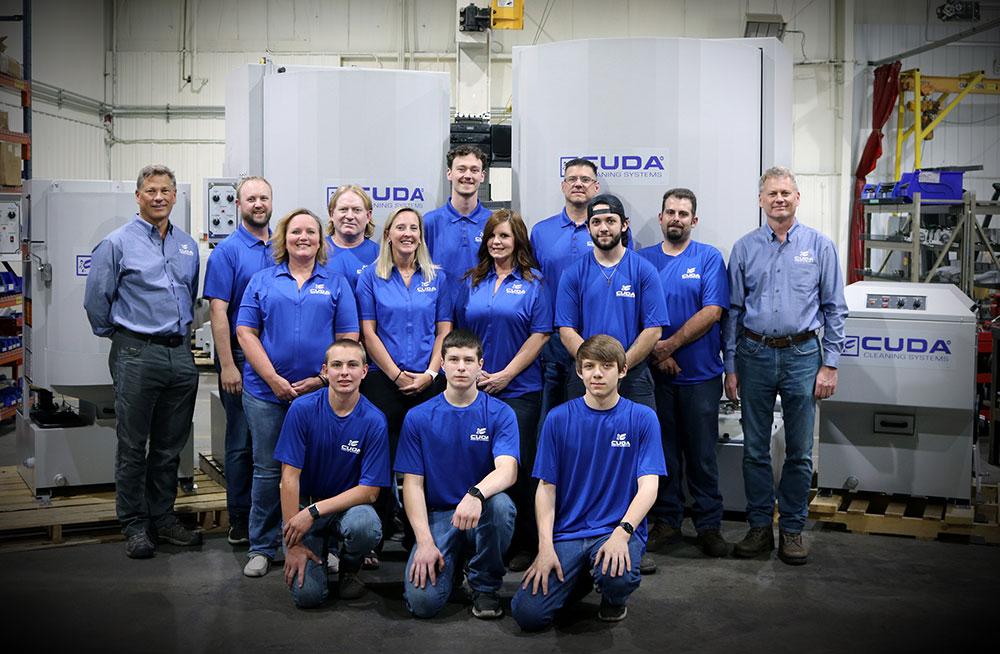Cuda Employee Group Photo